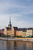 Historische Architektur in Gamla Stan, Stockholm, Schweden, Skandinavien, Europa