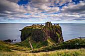 Dunnottar Castle außerhalb von Stonehaven, Aberdeenshire, Schottland, Großbritannien, Europa