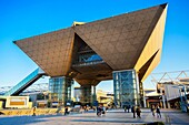 Japan, Tokyo City, Odaiba District, Tokyo Big Sight Bldg. , International Exhibition Center.