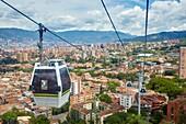 Metrocable Nuevo Occidente, San Javier - La Aurora, Medellin, Antioquia, Colombia, South America