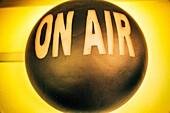 'On air' sign