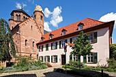 D-Worms, Rhine, Upper Rhine, Rhenish Hesse, Rhine-Neckar area, Rhine-Main district, Rhineland-Palatinate, St Paulus Church and Dominican monastery, collegiate church, monastery church, Romanesque, Baroque.