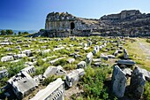 Miletus Amphitheater. Ancient Greece. Asia Minor. Turkey.