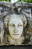 Portico of Tiberius Frieze. Aphrodisias. Ancient Greece. Asia Minor. Turkey.