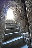 Pergamon Amphytheater Tunnel. Ancient Greece. Asia Minor. Turkey