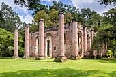 Old Sheldon Church Ruins, Yemassee, South Carolina.