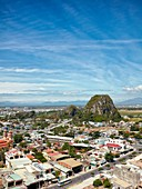 Elevated view of The Marble Mountains. Da Nang, Vietnam.