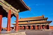 China, Beijing, Forbidden City, Heavenly Purity hall.