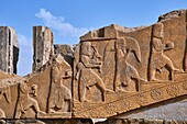 Iran, Fars Province, Persepolis, World Heritage of the UNESCO, Darius 1st palace.