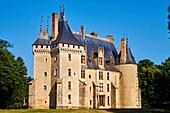 France, Cher (18), Berry, Chateau de Meillant castle, the Jacques Coeur road.