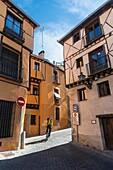 The Jewish Quarter in the city of Segovia, Spain.