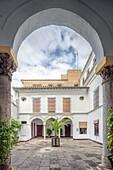 Inner yard of Santa Isabel convent (16th century), Seville, Spain.
