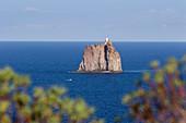 Strombolicchio off Stromboli Island, Aeolian Islands, Lipari Islands, Tyrrhenian Sea, Mediterranean Sea, Italy, Europe