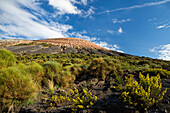 volcano crater Gran Cratere, Vulcano Island, Aeolian Islands, Lipari Islands, Tyrrhenian Sea, Mediterranean Sea, Italy, Europe