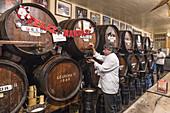 Oldest tavern in Malaga , Antigua Casa de Guardia, since 1840,  Malaga, Andalucia, Spain