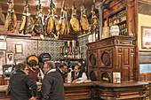El Rinconcillo oldest tapas bar in Seville, spanish restaurant,  founded 1670,  Andalucia, Spain