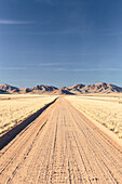 The road D707, also known as the most beautiful road of Namibia, Hardap, Namibia.