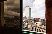 Above the rooftops of Havana, Havana Center, Cuba