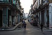 Side streets from Del Prado, La Havana Vieja, Havana, Cuba