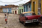 In the streets of Trinidad, Trinidad, Havana, Cuba