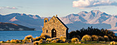 Church of the Good Shepherd at Lake Tekapo, Canterbury, South Island, New Zealand, Oceania