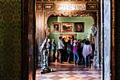 Room of the former villa of Franz von Lenbach, Munich