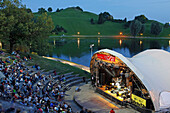 Theatron Open-Air concert, Seebuehne, Munich, Upper Bavaria, Bavaria, Germany