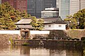 Hanzo-mon Gate of Imperial Palace, Chiyoda-ku, Tokyo, Japan