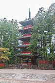 Pagoda of Toshogu-Shrine in Nikko, Tochigi Prefecture, Japan