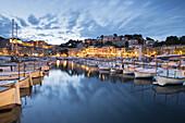 Port of Port de Soller, Mallorca, Balearics, Spain