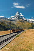 Gornergratbahn, Matterhorn, Valais, Switzerland