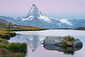 Stellisee, Matterhorn, Zermatt, Valais, Switzerland