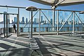 Ship Station World Financial Center, Manhattan, New York City, New York, USA
