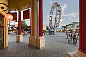 Wiener Riesenrad, Viennese Prater, 2nd district of Leopoldstadt, Vienna, Austria
