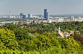 Blick über Wien vom Cobenzl, 19. Bezirk Döbling, Wien, Österreich