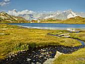 Lacs de Fenêtre, Mont Dolent, Wallis, Schweiz