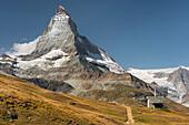 Matterhorn Ostwand, Zermatt, Wallis, Schweiz