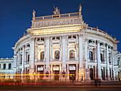 Burgtheater, Rathausplatz, 1. Bezirk, Innere Stadt, Wien, Österreich