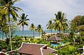 Nang Thong Bay Resort rebuilt after 2004 tsunami Khao Lak Thailand.