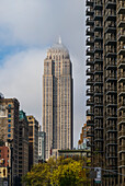 'Residential skyscrapers; New York City, New York, United States of America'