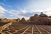 'Domes on the roof of the Sultan Amir Ahmad Hamam (Bathhouse); Kashan, Esfahan Province, Iran'