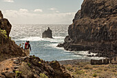 walking track south coast, La Dama, La Gomera, Canary Islands, Spain