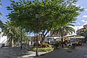 San Andres, Street Cafe, Restaurant, La Palma, Canary Islands, Spain
