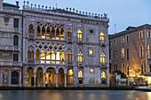 Canal Grande, Palazzo Ca d Oro , Venedig, Venezia, Venice, Italia, Europe