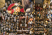Venetian masks shop, Ca del Sol, Venezia, Venice, Venedig, Italia, Europe