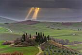 Orcia valley, Siena province, Tuscany, Italy