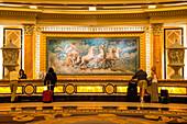 Las Vegas, Nevada, USA, Check in desk inside Caesar Palace casino