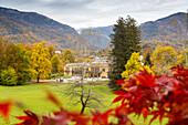 Kaiservilla, Villa of Emperor Franz Josef of Austria and Emperor's Park, Bad Ischl, Salzkammergut, Upper Austria, Austria, Europe