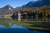 Lake Grundlsee, Bad Aussee, Styria, Austria, Europe