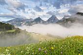 Hochkasten, Spitzmauer, Brotfall, Totes Gebirge, Hinterstoder, Upper Austria, Austria, Europe